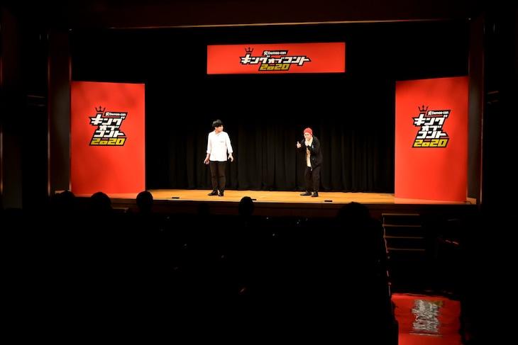 「キングオブコント2020」1回戦初日の様子。(c)TBS
