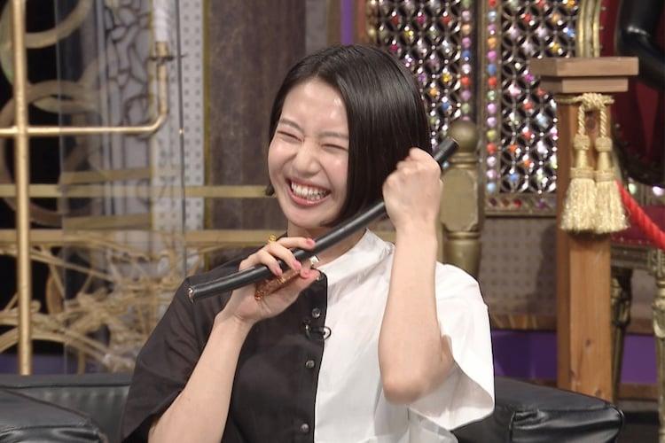 石山蓮華 (c)日本テレビ