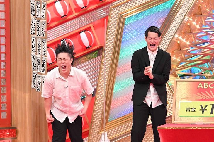 「第41回ABCお笑いグランプリ」で優勝したコウテイ。(c)ABCテレビ