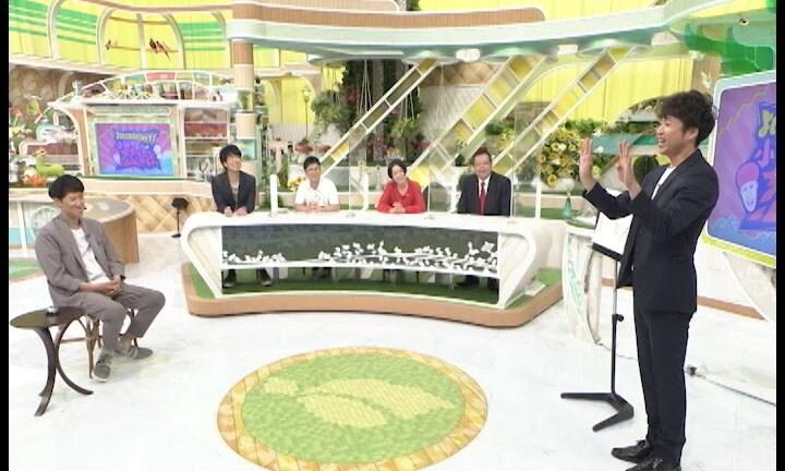 大島和久が醸し出す独特の空気感にハマりだすスタジオの一同。