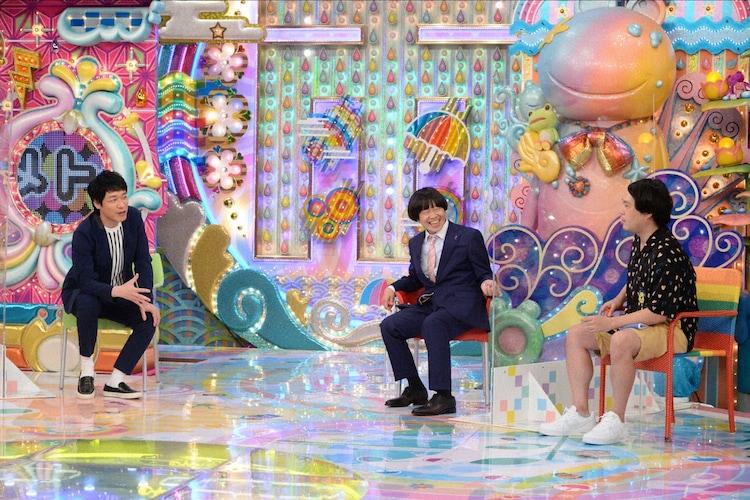 「アメトーーク!」に出演する(左から)麒麟・川島、蛍原徹、タカアンドトシ・タカ。(c)テレビ朝日