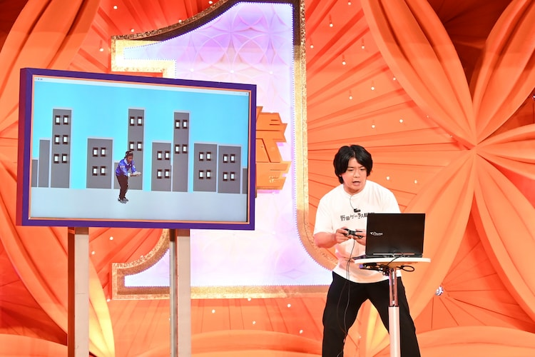 マヂカルラブリー野田クリスタル (c)TBS