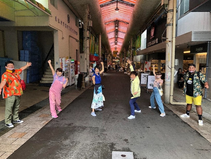 「ローカル路線バスVS鉄道 乗り継ぎ対決旅4」より。(c)テレビ東京