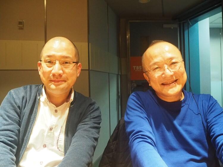 (左から)春風亭一之輔、山田五郎。