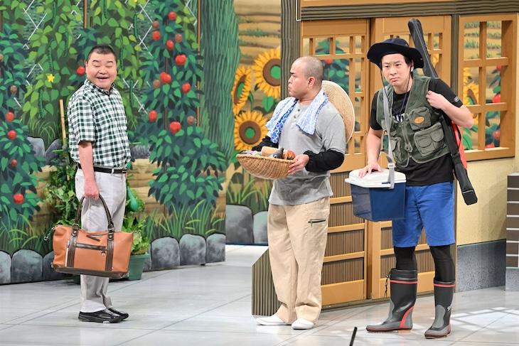 8月1日放送の「よしもと新喜劇」より。(c)MBS
