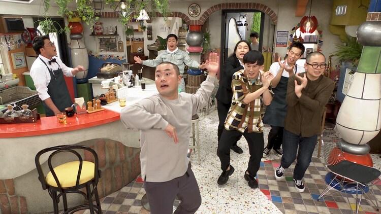 「東京 BABY BOYS 9」のワンシーン。(c)テレビ朝日
