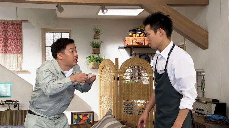 (左から)ザ・マミィ酒井、かが屋・加賀。(c)テレビ朝日