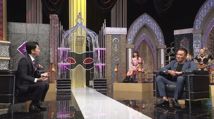 左から有吉弘行、竹原慎二。(c)日本テレビ