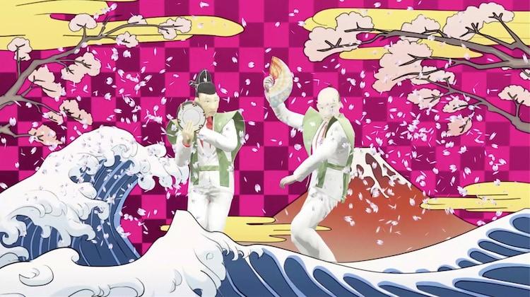 「バーチャルコント」のワンシーン。(c)日本テレビ