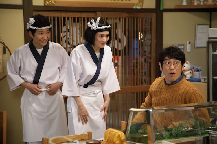 星野源と綾瀬はるかが出演したコント「うそ太郎」より。