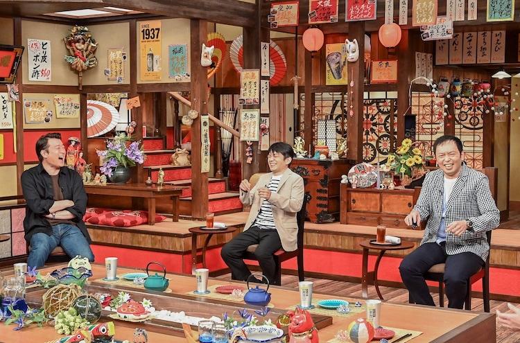 (左から)加藤浩次、中川家。(c)TBS