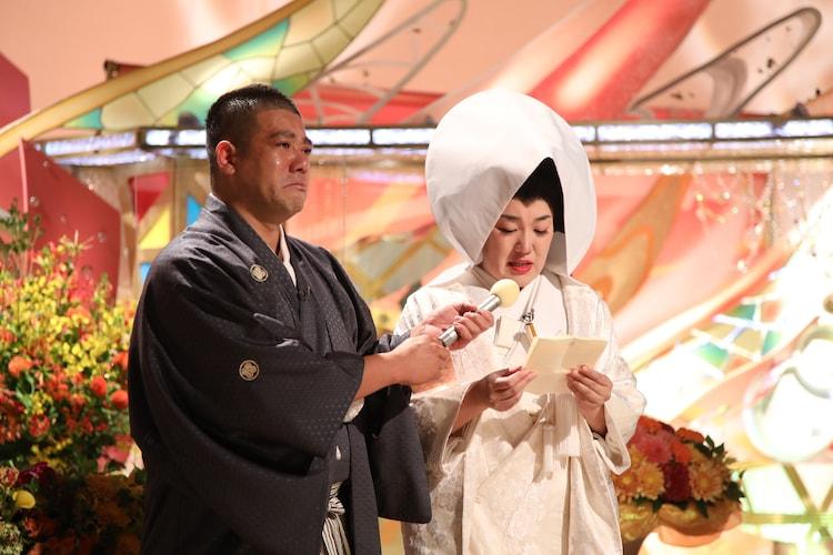 チェリー吉武、たんぽぽ白鳥夫妻。(c)ABCテレビ