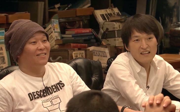 「HITOSHI MATSUMOTO Presents ドキュメンタル」シーズン8より、千原兄弟。