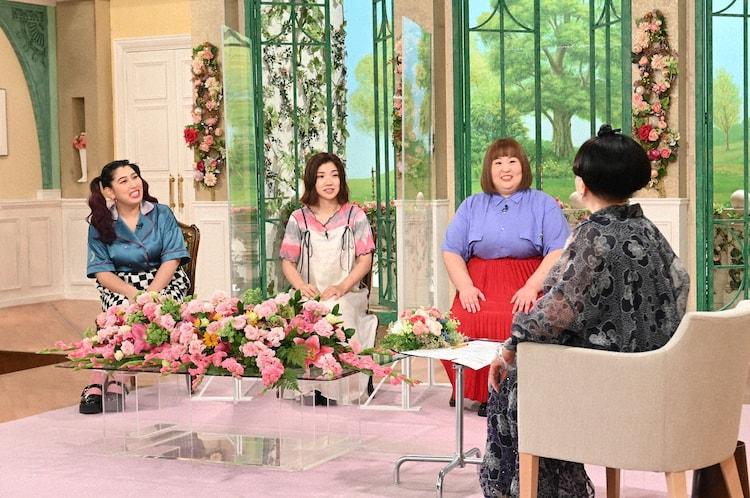 3時のヒロインと黒柳徹子。(c)テレビ朝日