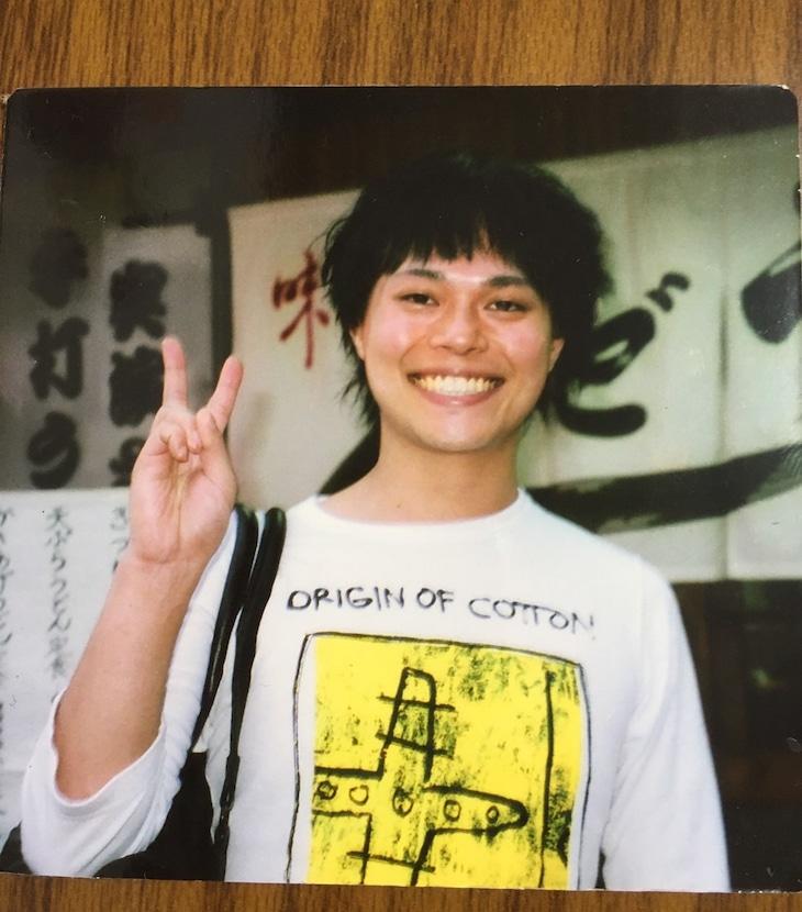 初単独ライブを開催した頃の中山功太。