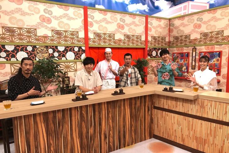 ゲストはパンサーと佐藤栞里。