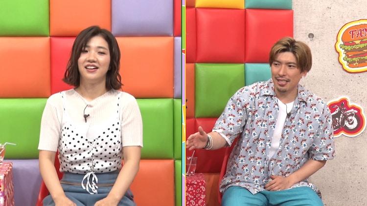 (左から)3時のヒロイン福田、EXITりんたろー。(c)テレビ朝日