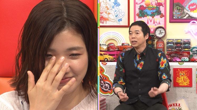 (左から)3時のヒロイン福田、今田耕司。(c)テレビ朝日