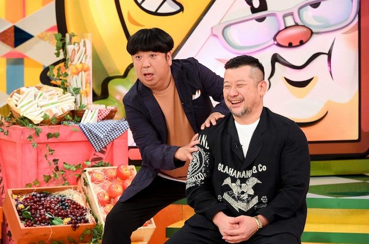 「バナナサンド」に出演する(左から)バナナマン日村とケンドーコバヤシ。(c)TBS