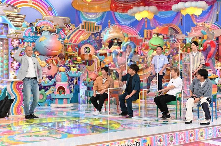 「アメトーーク!」の「夏休みだよ!ナダル・アンビリバボー」のワンシーン。(c)テレビ朝日