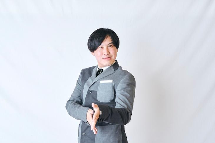 改名を発表したトンツカタン菅原改め、お抹茶。