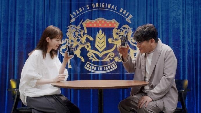 (左から)西野七瀬、ずん飯尾。