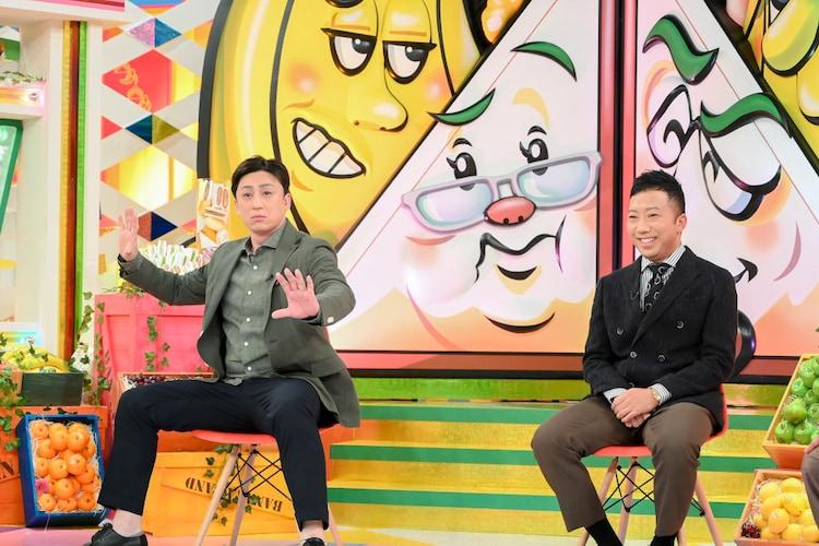 (左から)松本幸四郎、市川猿之助。(c)TBS