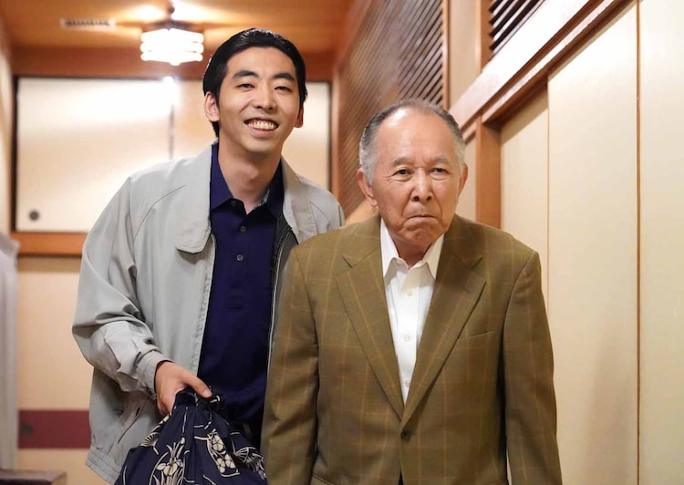 「BS笑点ドラマスペシャル 初代 林家木久蔵」より。(c)BS日テレ