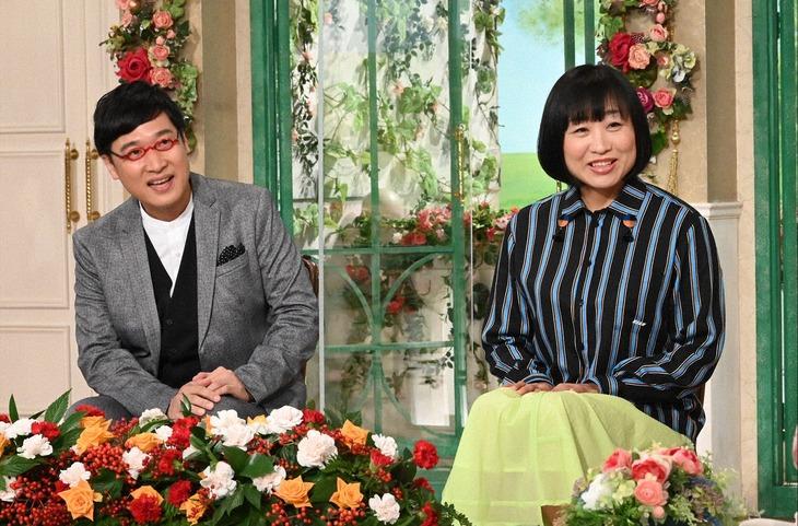 「徹子の部屋」に出演する南海キャンディーズ。(c)テレビ朝日