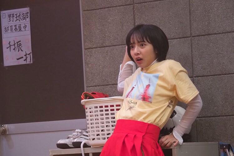 伊藤健太郎主演コント「スポーツ番長RX」でダンス部員を演じる山之内すず。
