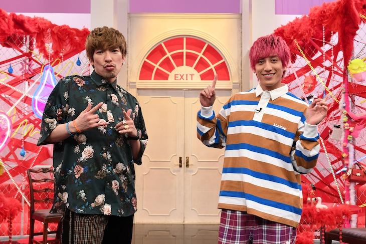「EXI怒 12人の怒れるおこ女」に出演するEXIT。(c)テレビ朝日