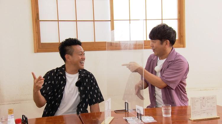 (左から)宮川大輔、FUJIWARA藤本。(c)関西テレビ