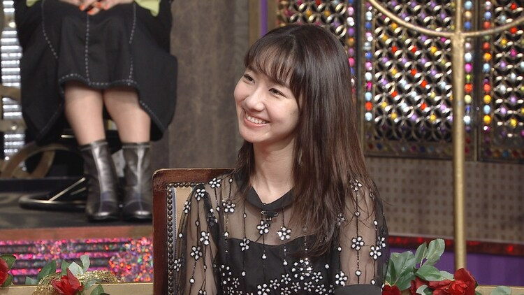 柏木由紀 (c)日本テレビ