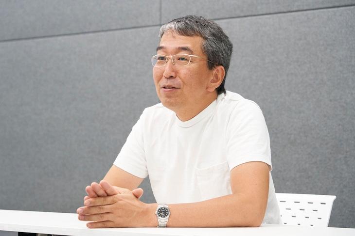 「リアルタイムドッキリ!今夜あなたも共犯者今日は芸人最悪の日!」のプロデュース、演出を手がける小松純也氏。