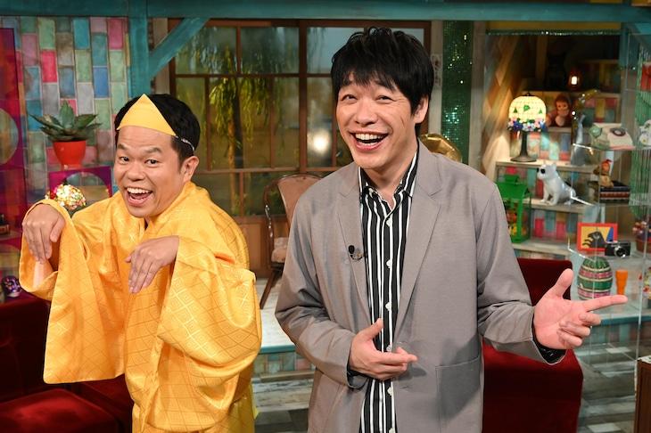 左からダイアン津田、麒麟・川島。(c)読売テレビ
