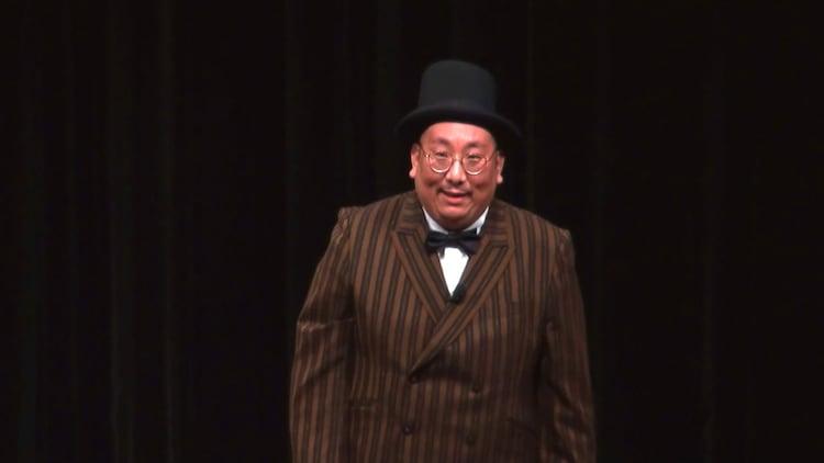 「街裏ぴんくの漫談ショー2020『コリズニヤッテル』」東京公演の様子。