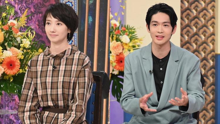 左から波瑠、松下洸平。(c)日本テレビ