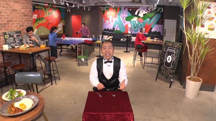 「世界フシギ動画祭り」に出演するハライチ澤部。(c)テレビ朝日