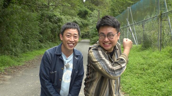 左からさらば青春の光・森田、銀シャリ橋本。