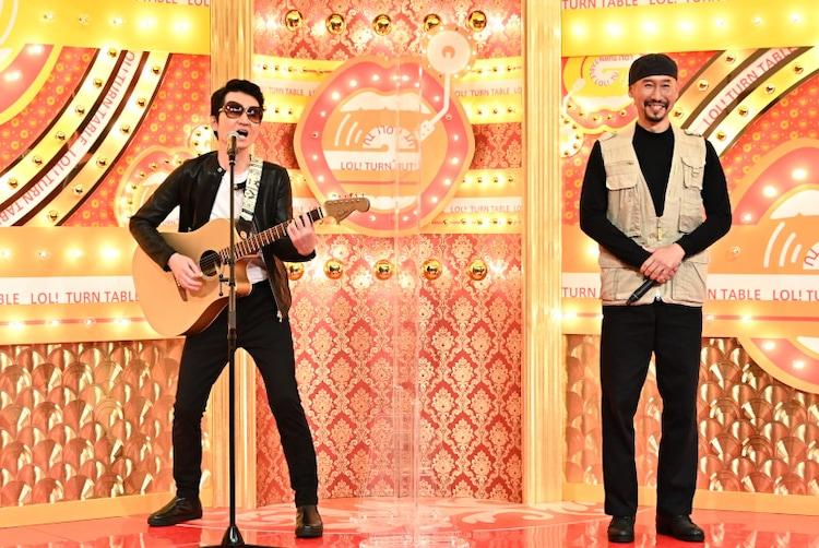 (左から)SAKURAI、渡部陽一。(c)TBS