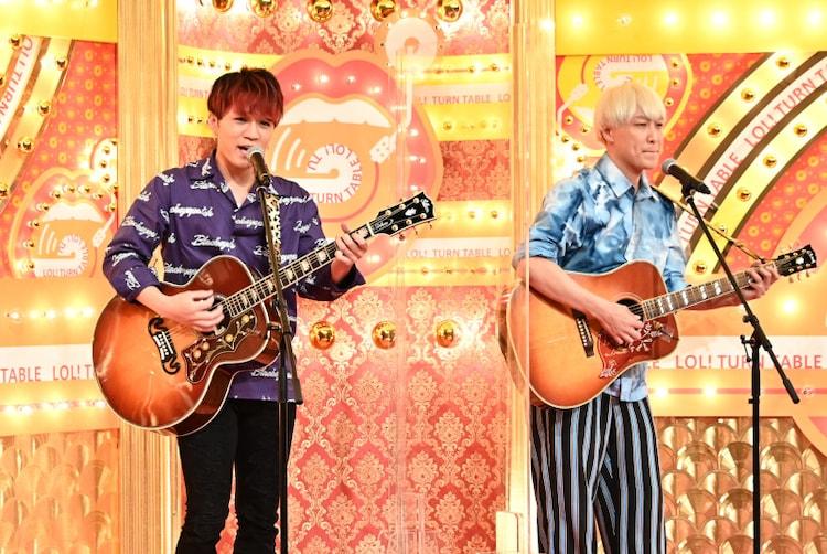 (左から)神山智洋、お見送り芸人しんいち。(c)TBS