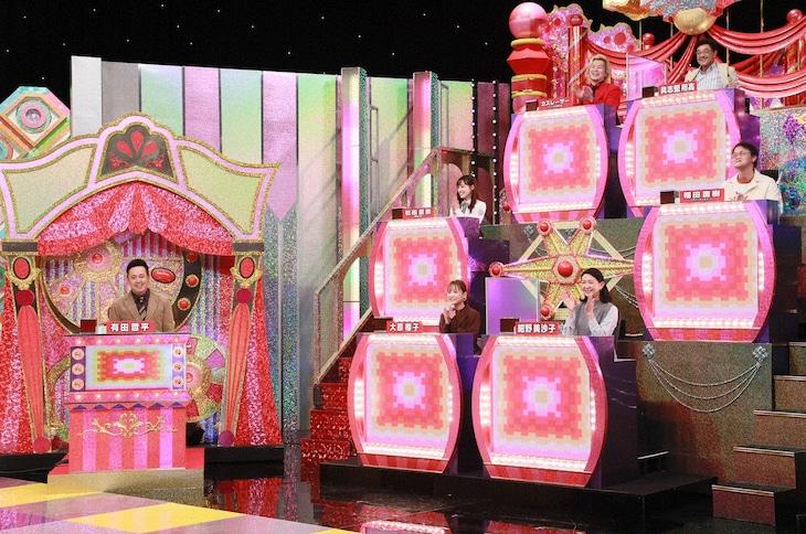 「くりぃむクイズ ミラクル9」に出演する「有田ナイン」のメンバー。(c)テレビ朝日