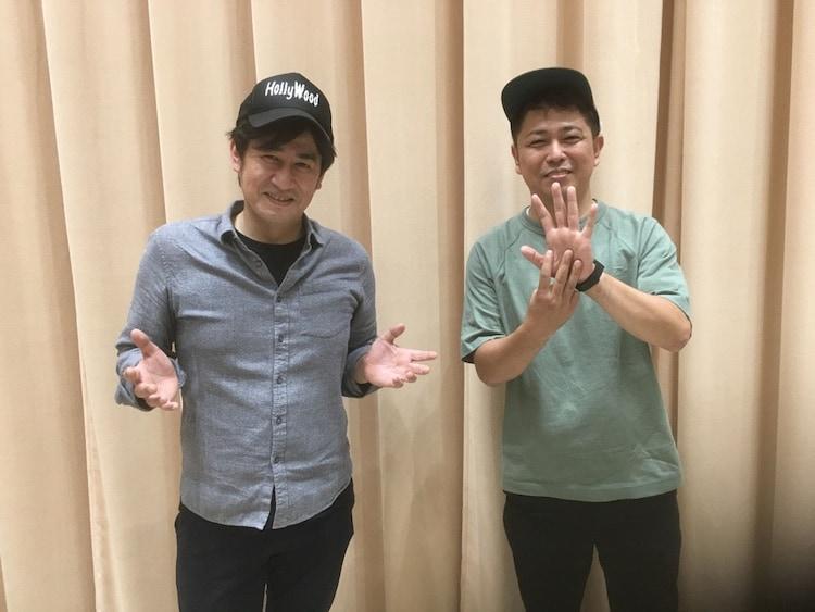 だーりんず。左から松本りんす、小田。