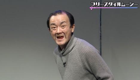 ななまがり森下扮するムーシー藤田。