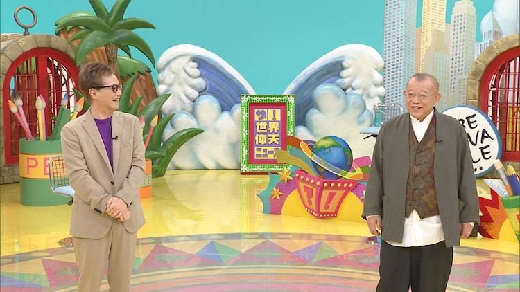 左から中居正広、笑福亭鶴瓶。(c)日本テレビ