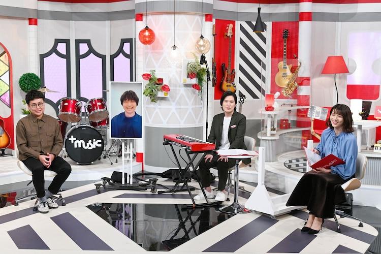左から銀シャリ・橋本、三浦大知、清塚信也、清水麻椰(MBSアナウンサー)。