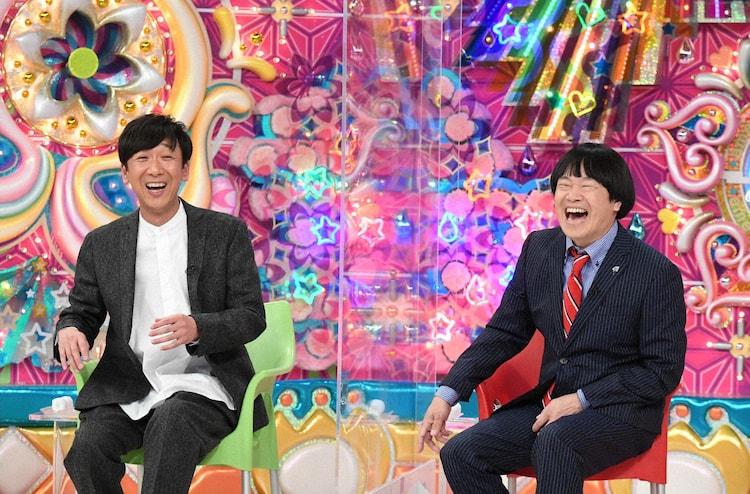(左から)東京03飯塚、蛍原徹。(c)テレビ朝日