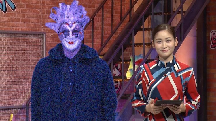 左からゲームマスター、岩田絵里奈アナウンサー。(c)日本テレビ