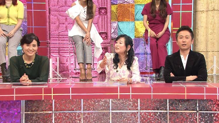 「インテリチーム」の(左から)金子恵美、岡田晴恵、ロザン宇治原。