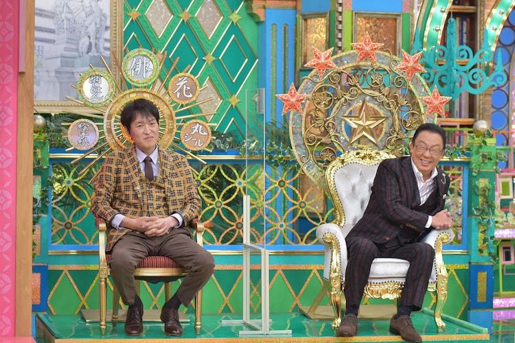 左から千原ジュニア、梅沢富美男。